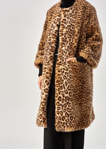 FAUX FUR COAT (2 COLORS)